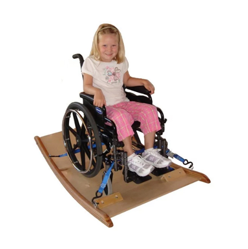 Theradapt sand bags and wheelchair platform rocker