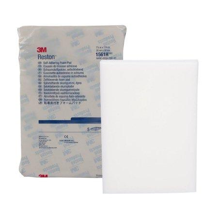 """3M Reston Self-Adhering Foam Dressing Pad, 11-3/4"""" x 7-7/8"""", 15/16"""" Thick"""