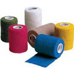 "3M Coban Self-Adherent Wrap, Non-Sterile, 3"" x 5 yards, Color Assortment"