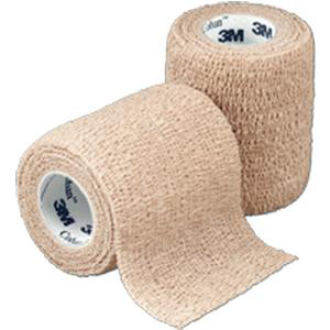 """3M Coban Self-Adherent Wrap, Sterile, 3"""" x 5 yards, Tan"""