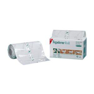 "3M Tegaderm Transparent Film Dressing, 4"" x 11 yards"
