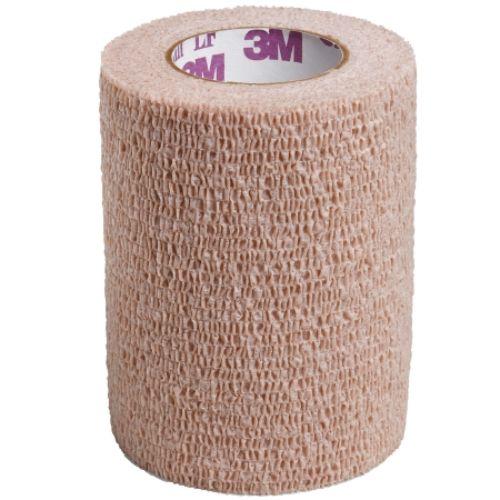 """3M Coban Self-Adherent Wrap, Latex-Free, Non-Sterile, 3"""" x 5 yards, Tan"""