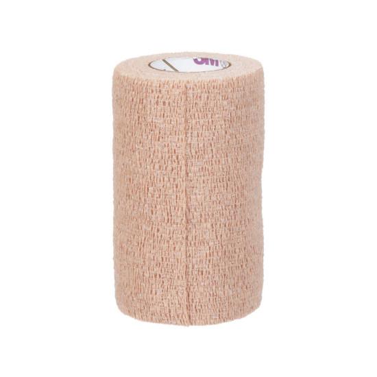 """3M Coban Latex-Free Self-Adherent Wrap 4"""" x 6-1/2 yards, Tan"""
