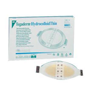 "3M Tegaderm Hydrocolloid Thin Dressing, Sterile, 6-3/4"" x 8"""