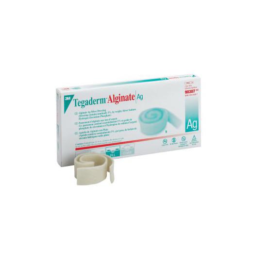 "3M Tegaderm Alginate Ag Silver Dressing, 1"" x 12"" Rope"