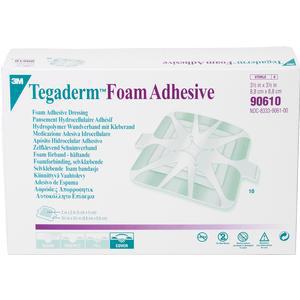 "3M Tegaderm High Performance Adhesive Foam Dressing 3-1/2"" x 3-1/2"""