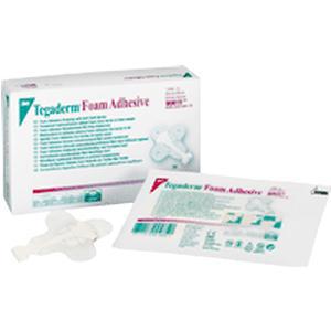 "3M Tegaderm High Performance Adhesive Foam Dressing 2-3/4"" x 2-3/4"" Mini Wrap"