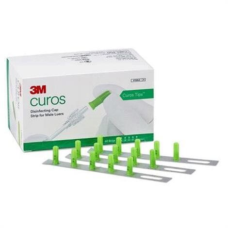 3M Curos Tips Disinfecting Cap for Male Luers