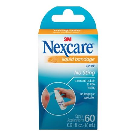 Nexcare Liquid Bandage Spray, 0.61 oz.