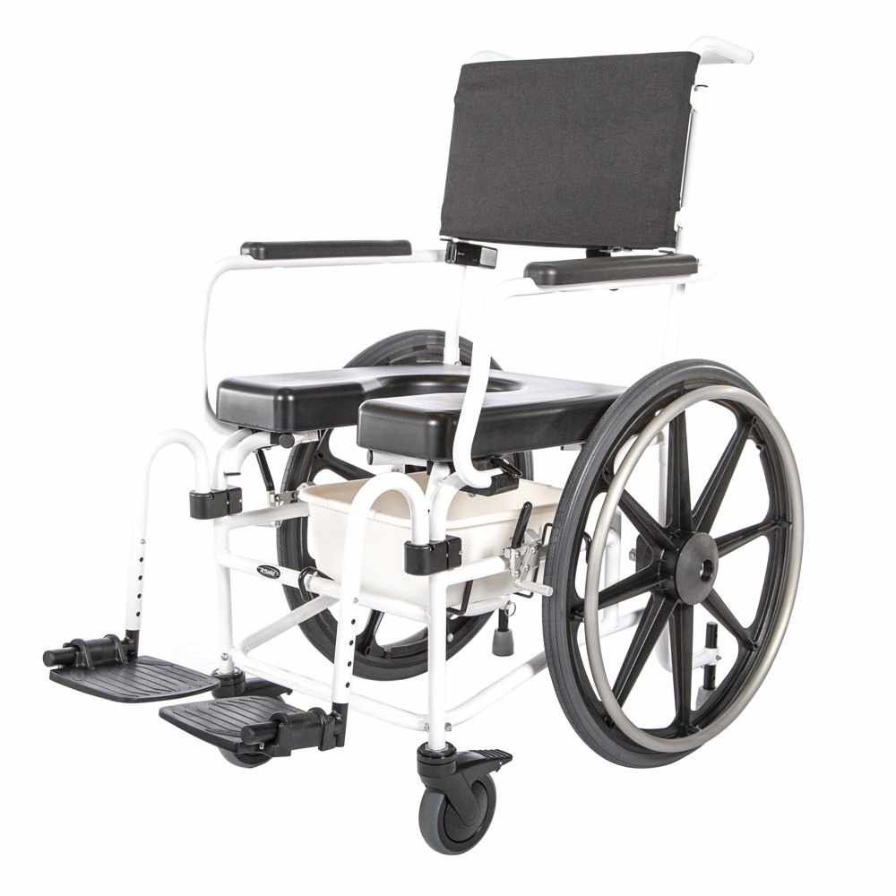 ActiveAid Evolution 1024 Adjustable Seat Angle Shower Commode chair