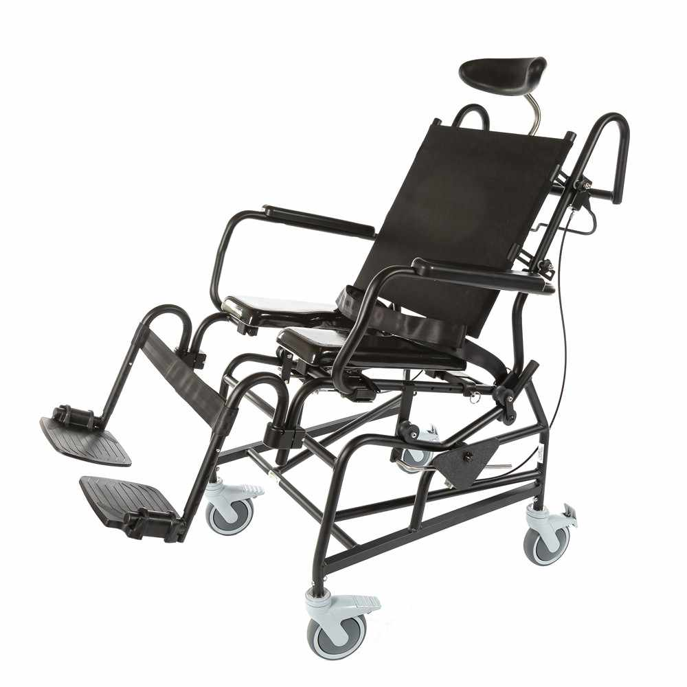 ActiveAid 1218 modular growth tilt shower commode chair