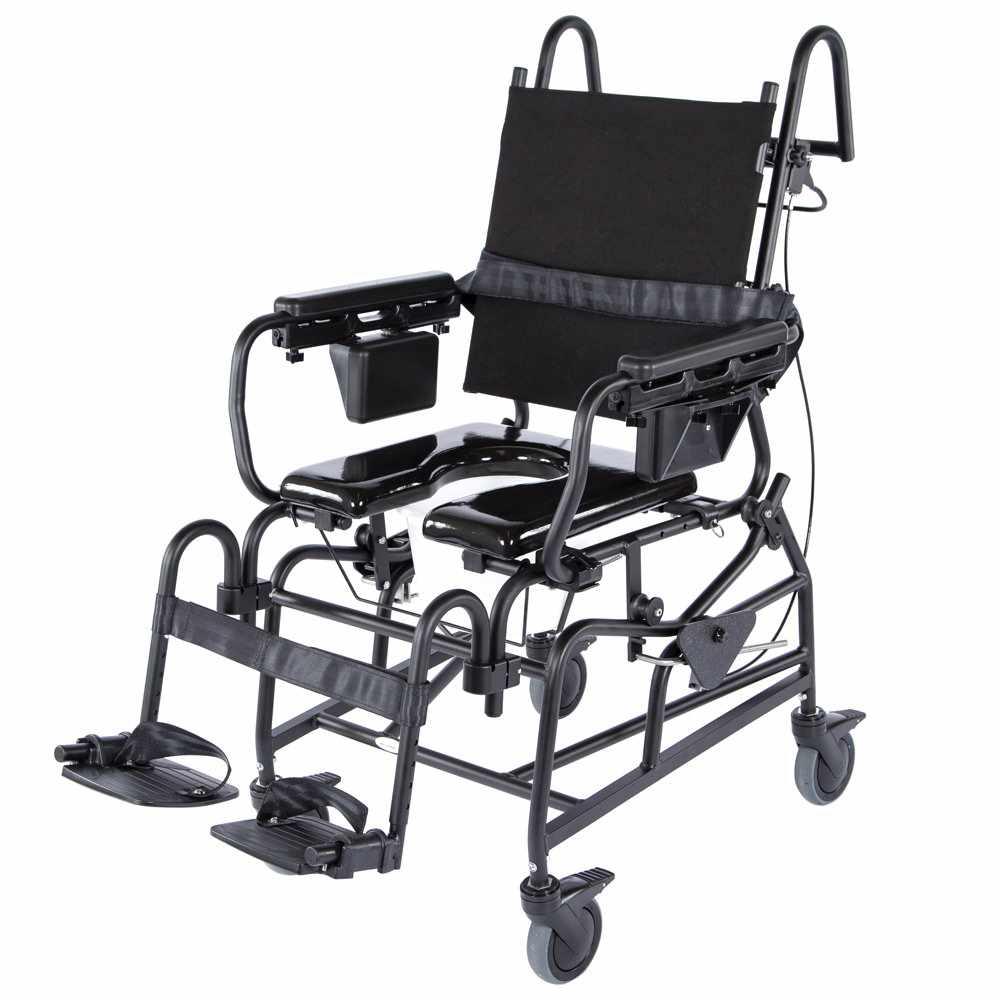 Activeaid 1218 Tilt   Activeaid Rehab Shower Commode Chair