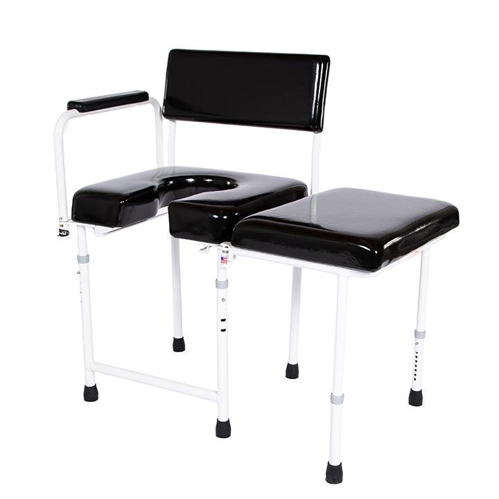 ActiveAid 202 Bathroom Assist Chair | Max Aid Commode Chair