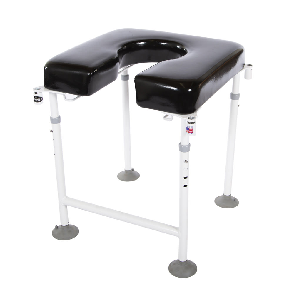 Max-Aid chair with Optional Padded back (D7) & Two Padded Arms (A3)