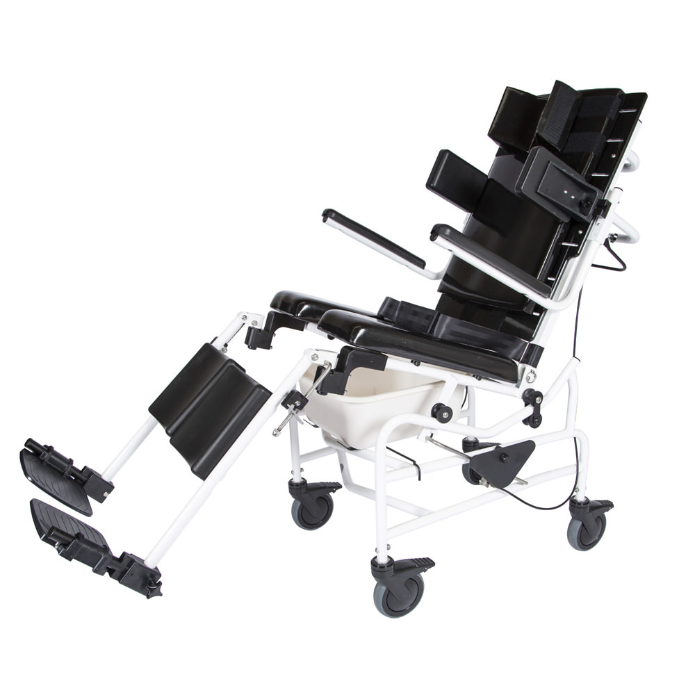 ActiveAid 283 Tilt Rehab Shower/Commode Chair - Package