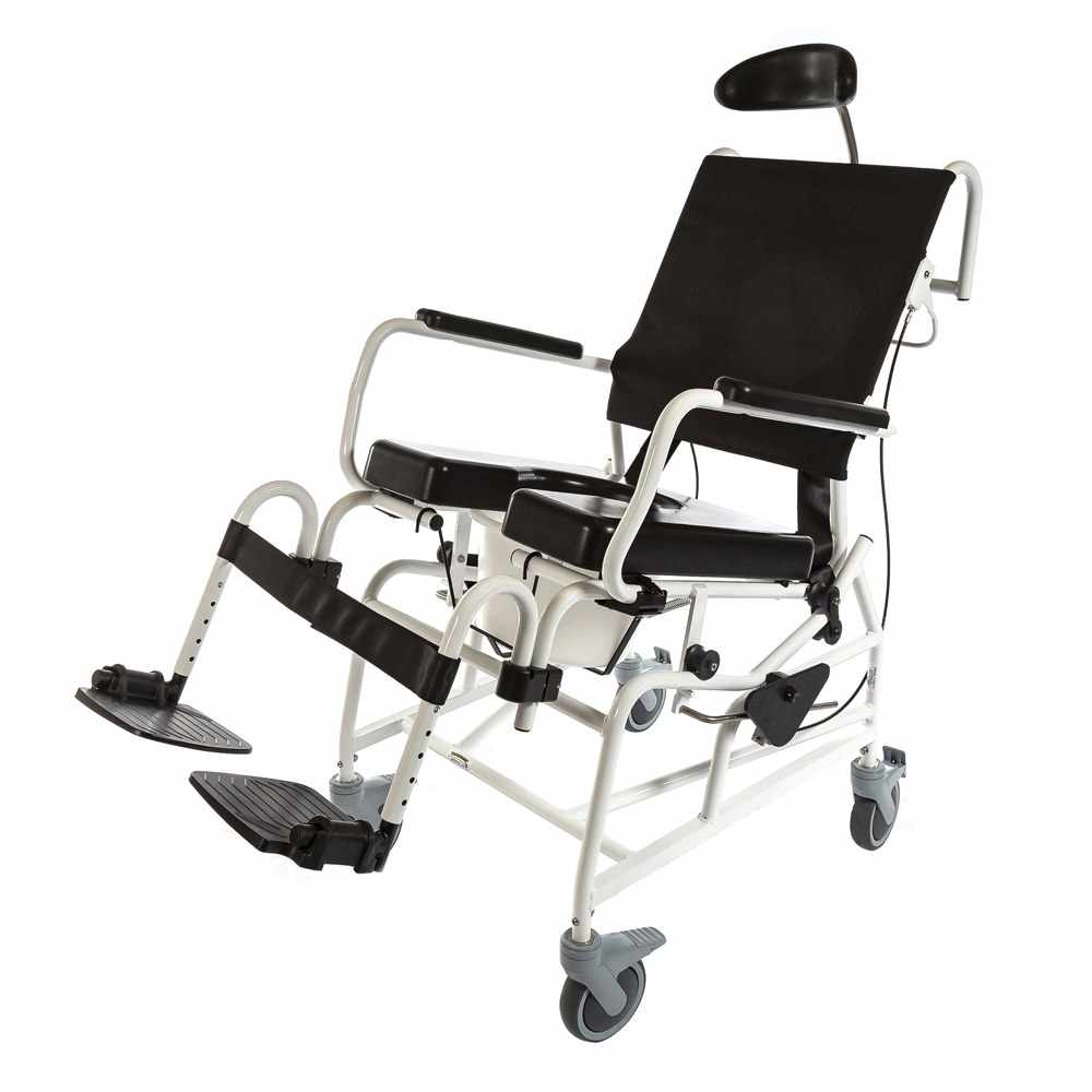 ActiveAid 285 Tilt Rehab Shower Commode Chair - Package
