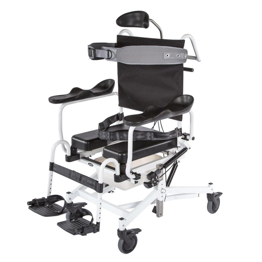 Activeaid Tilt & Recline Shower Commode Chair | Activeaid (285TR)