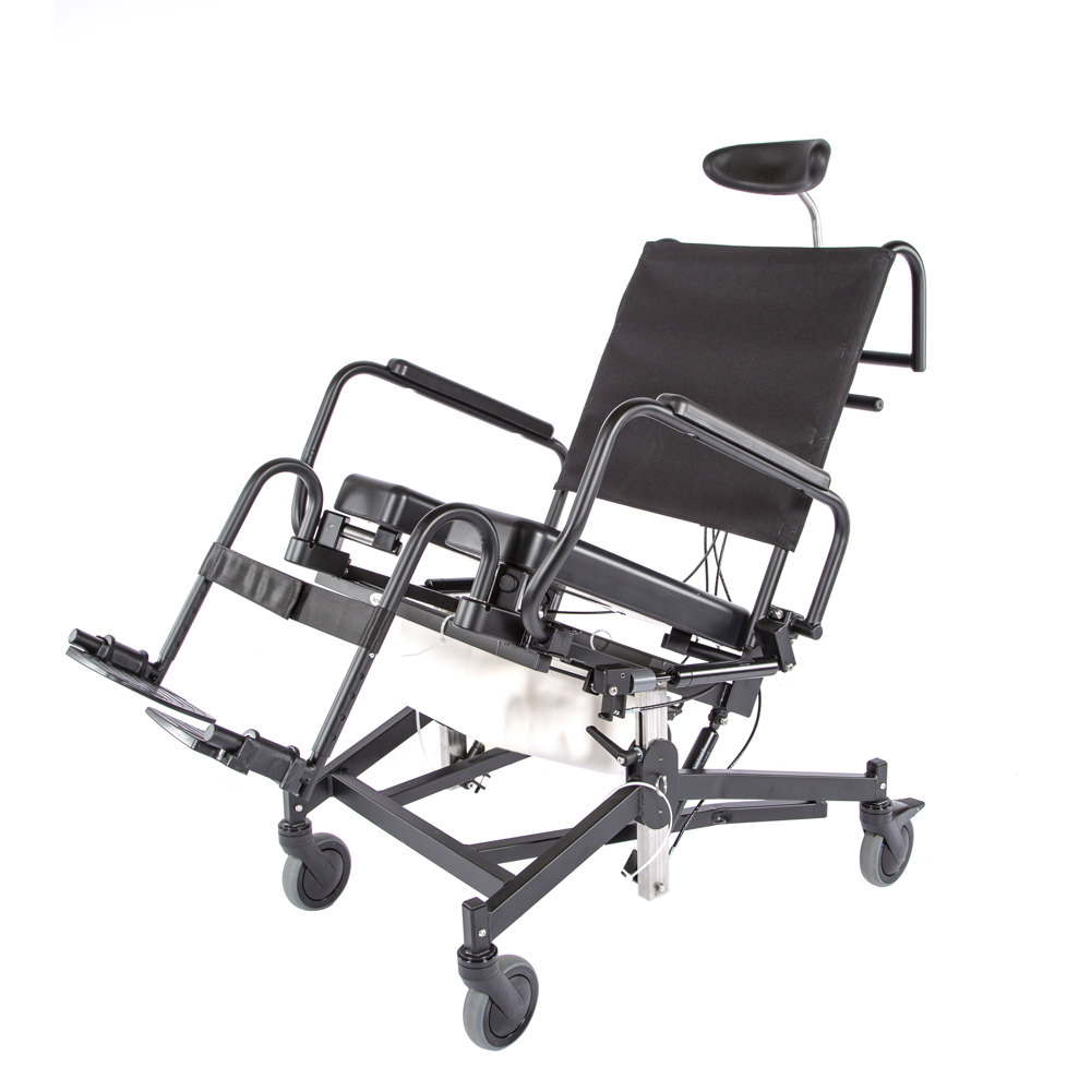 Activeaid 285TR   Activeaid Tilt and Recline Shower Commode Chair