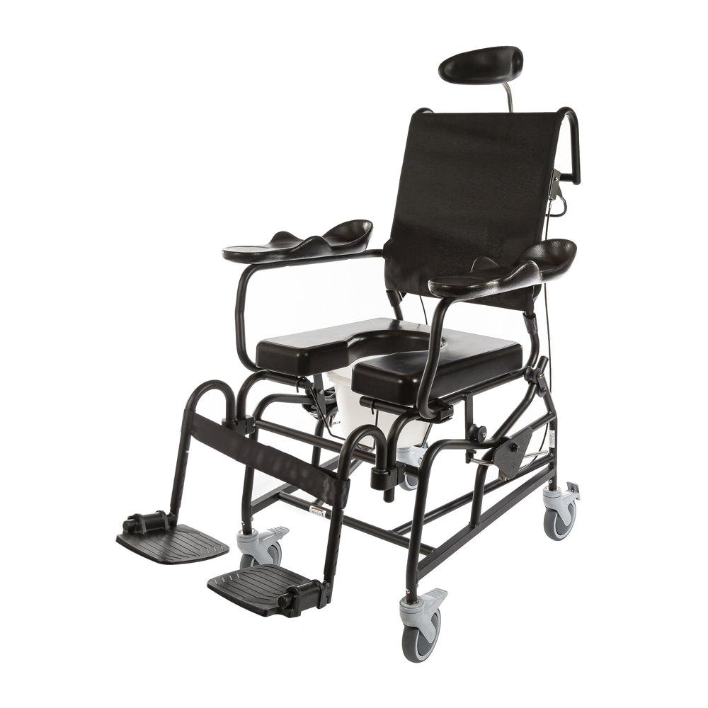 ActiveAid 285 Tilt Rehab Shower Commode Chair