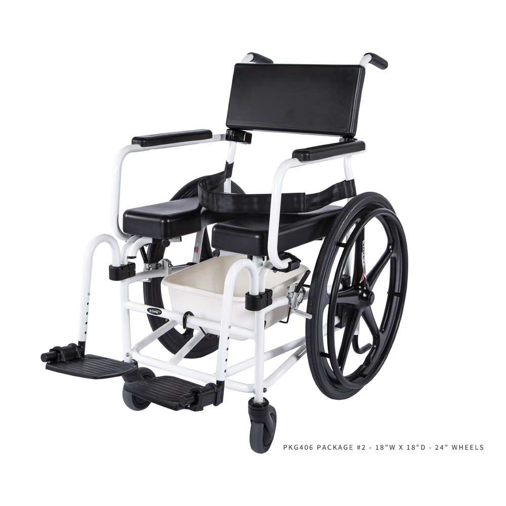Activeaid 600 Shower Commode Chair | Activeaid 600 - Medicaleshop