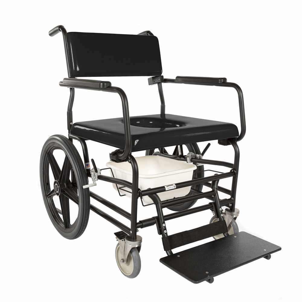 ActiveAid 720 Bariatric Rehab Shower Commode Chair - Package
