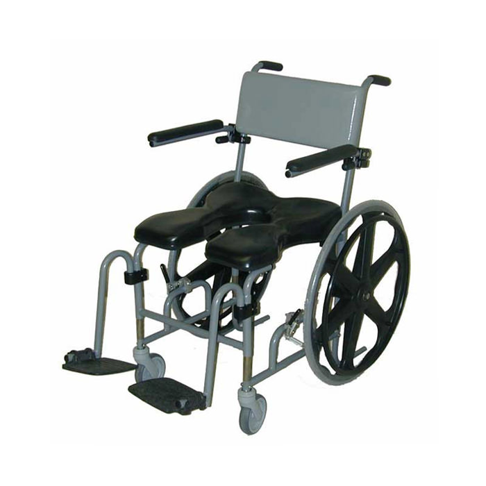 Evolution 824 height adjustable shower commode chair