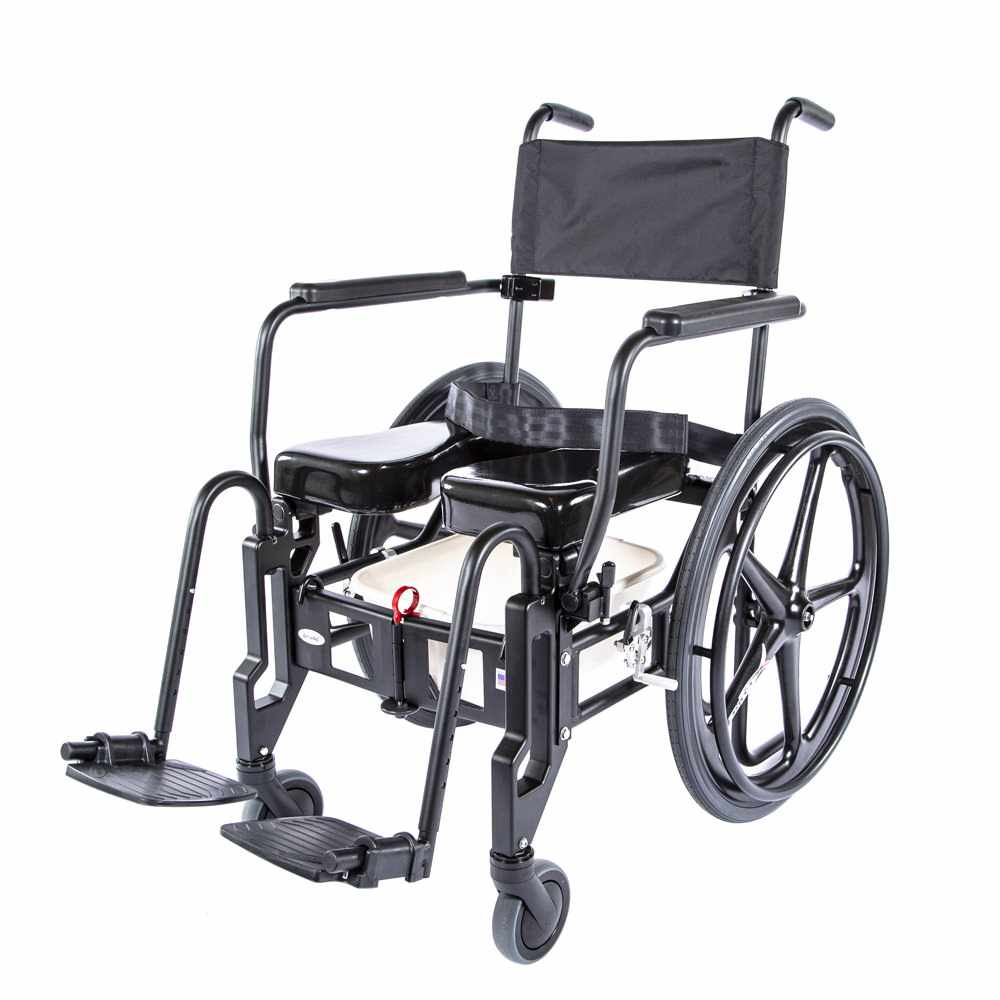 Activeaid 922 Folding Shower Commode Chair | Activeaid 922 - Medicaleshop