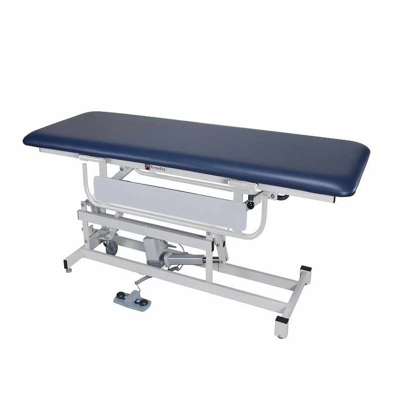 Armedica AM-134 bariatric treatment table with AM-807 side rails