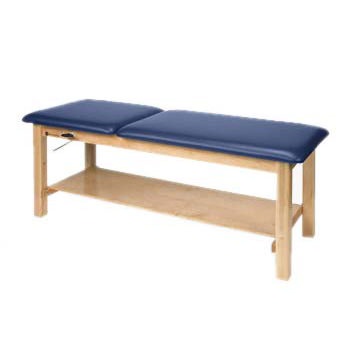 Armedica treatment table - Plain shelf and adjustable backrest