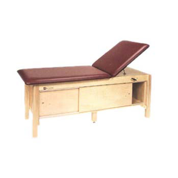 Armedica full cabinet table with adjustable backrest