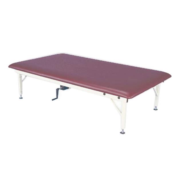 Armedica manually adjustable hi-lo bariatric mat table