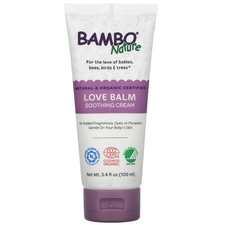 Bambo Nature Love Balm Soothing Baby Cream, 3.4 oz