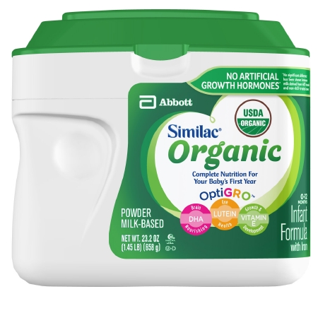 Similac Organic Complete Nutrition Infant Formula with Optigro