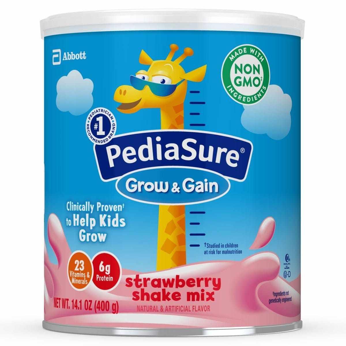 PediaSure Grow and Gain Complete Balanced Pediatric Nutrition