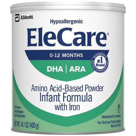 EleCare Infant Formula with Iron, Powder