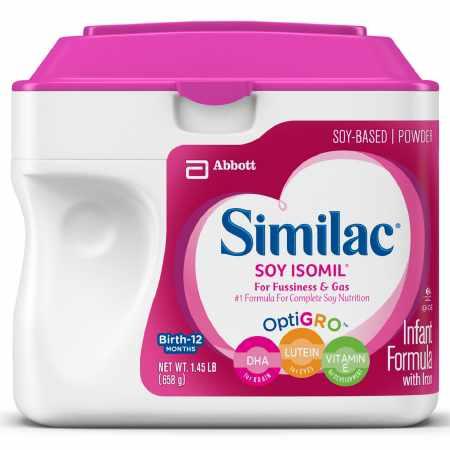 Similac Soy Isomil Infant Formula with Optigro