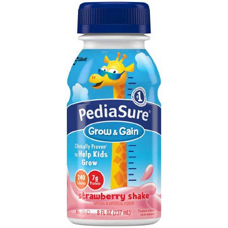 Pediasure Grow & Gain Pediatric Oral Supplement, Bottle