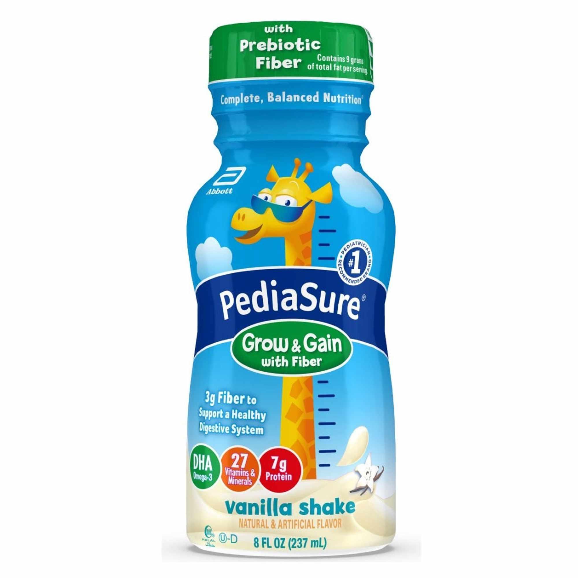 Abbott PediaSure Vanilla Flavor Pediatric Oral Supplement, 8 oz.