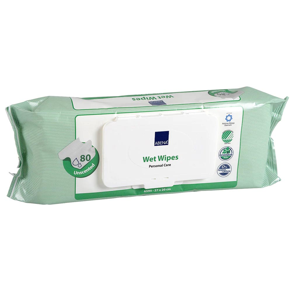 """Abena moist unscented x-large wipes 8"""" x 12-1/2"""""""