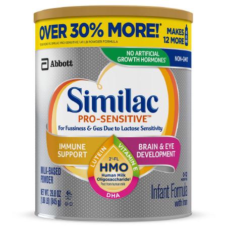 Similac Pro-Sensitive Infant Formula with Optigro