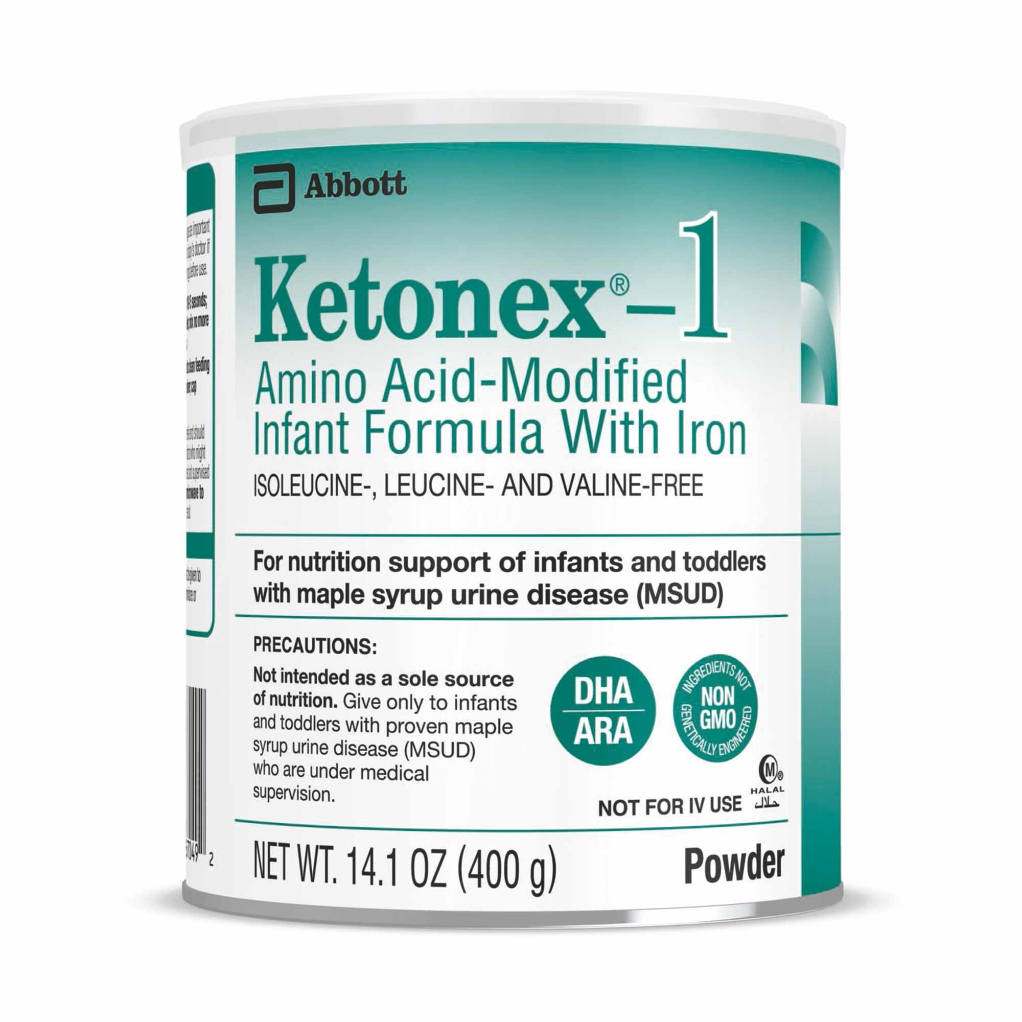 Ketonex -1 Unflavored Amino Acid-Modified Infant Formula