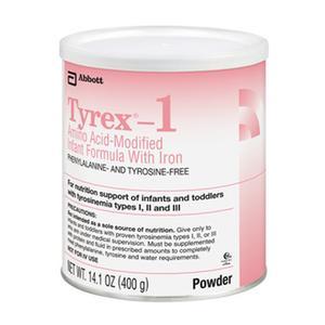 Tyrex-1 Amino Acid-Modified Infant Formula With Iron