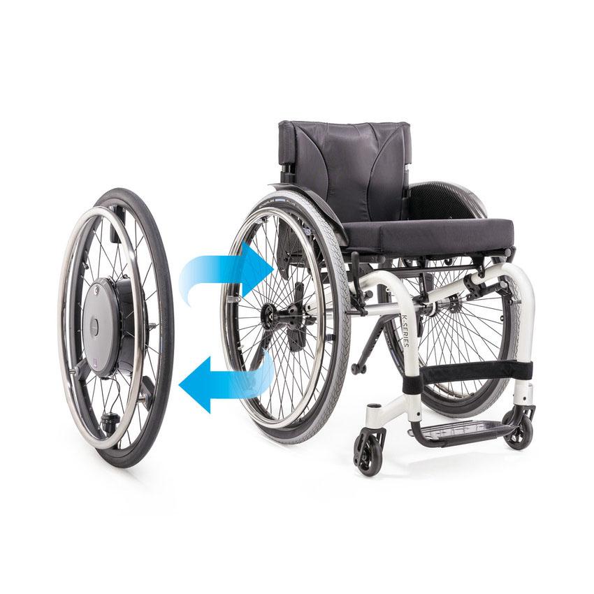 E-motion M25 power drive wheel