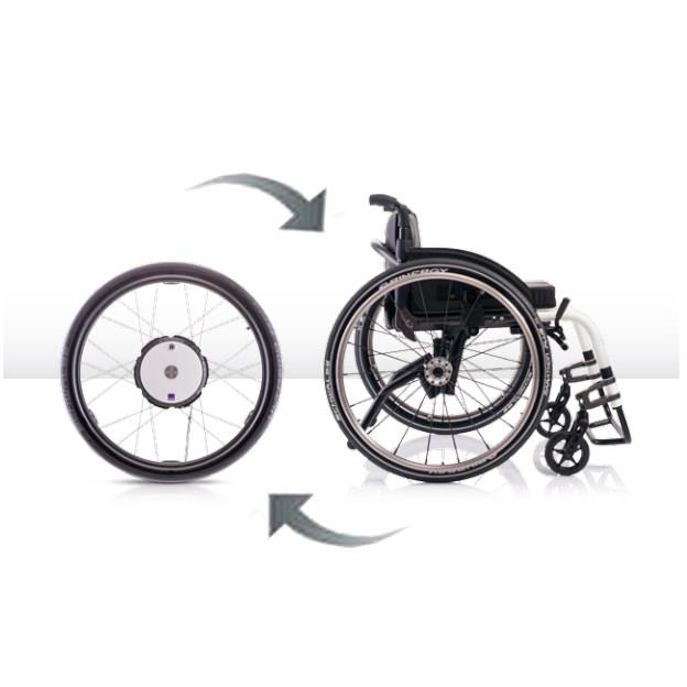 Twion basic power drive wheel system