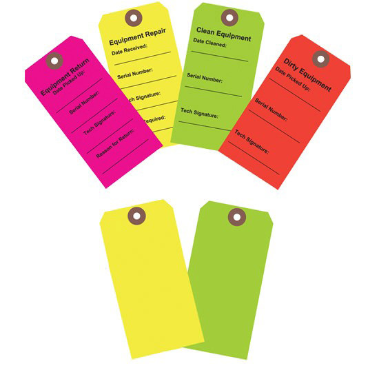 Action Health Equipment Tags