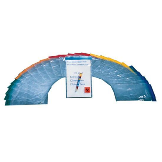 Econo-Zip Color Zipper Specimen Bags