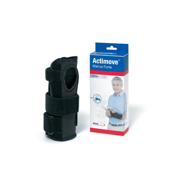 Actimove Manus Forte Wrist Brace, Black
