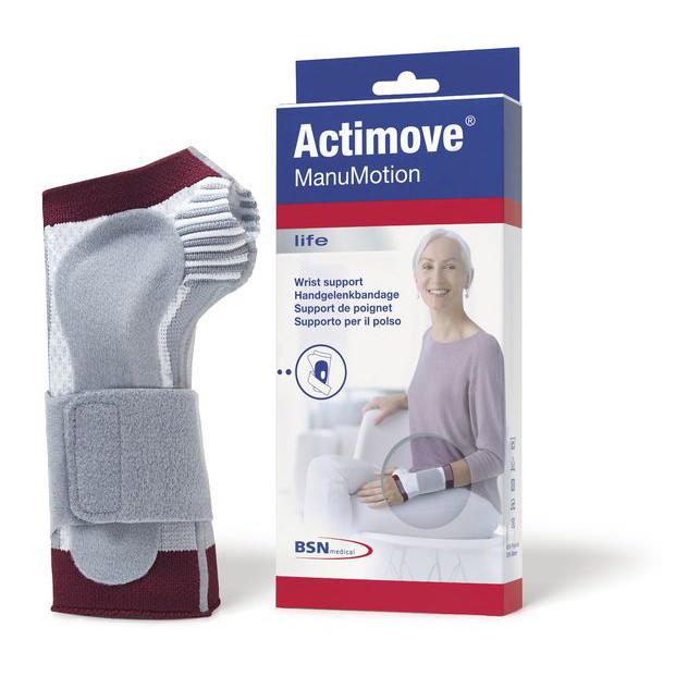 Actimove ManuMotion Wrist Support, White