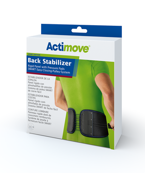 Actimove Back Support Rigid Panel, SMART Pulley System
