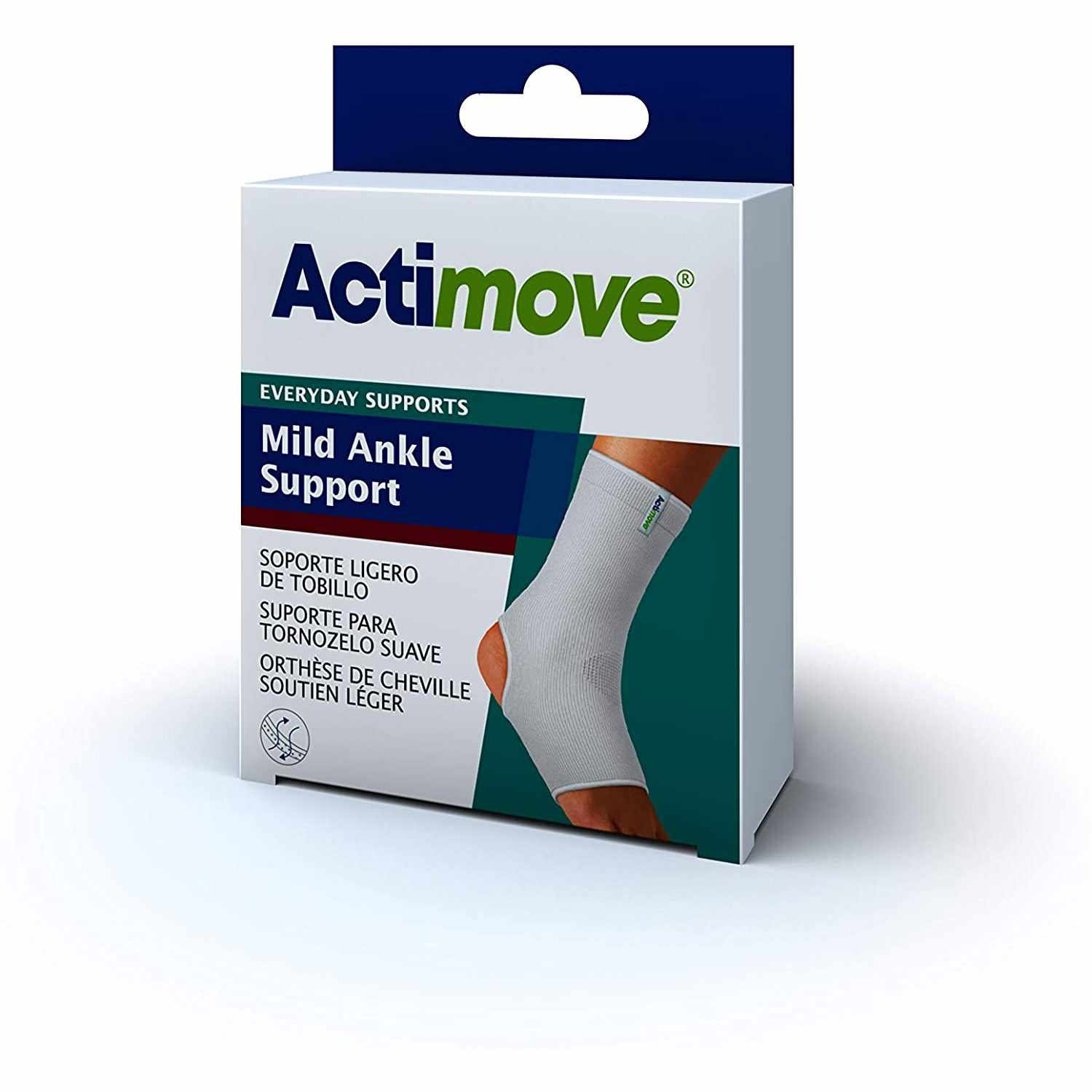 Actimove Mild Ankle Support, White